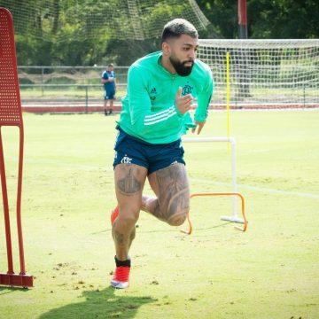 Com desconforto muscular, Gabigol está fora do jogo do Flamengo contra o Boavista