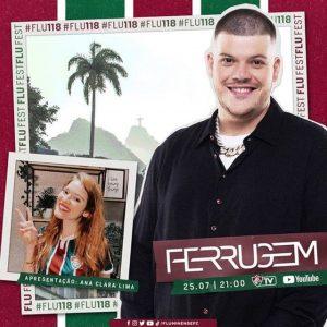 """Amistoso, lançamento de livro e show do Ferrugem... Fluminense anuncia atrações da """"Flu Fest"""" de aniversário"""