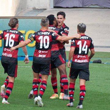 Flamengo vence o Fluminense no jogo de ida da final do Carioca; Gabigol é expulso no fim