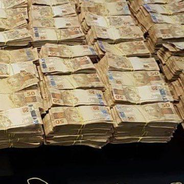 Valor apreendido em operação chega a R$ 8,5 milhões em reais, dólares, euros e libras