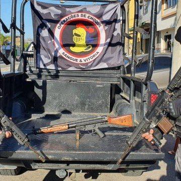 Três suspeitos são mortos em operação do Batalhão de Choque na Cidade Alta