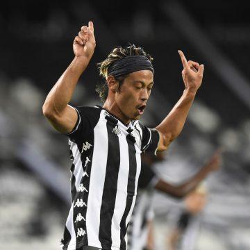 Honda no Botafogo desperta atenção de agência asiática interessada nos direitos de transmissão do Brasileiro