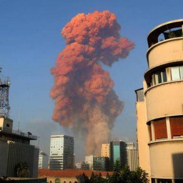 Grande explosão atinge Beirute em região próxima ao porto e deixa dezenas de mortos