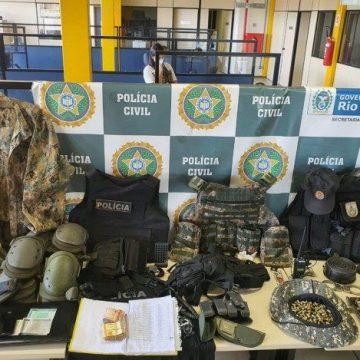 Polícia prende mulher investigada por envolvimento com a milícia de Queimados
