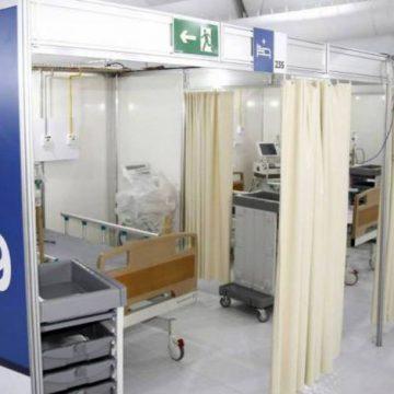 Hospital de Campanha da Lagoa será desativado após quatro meses em funcionamento