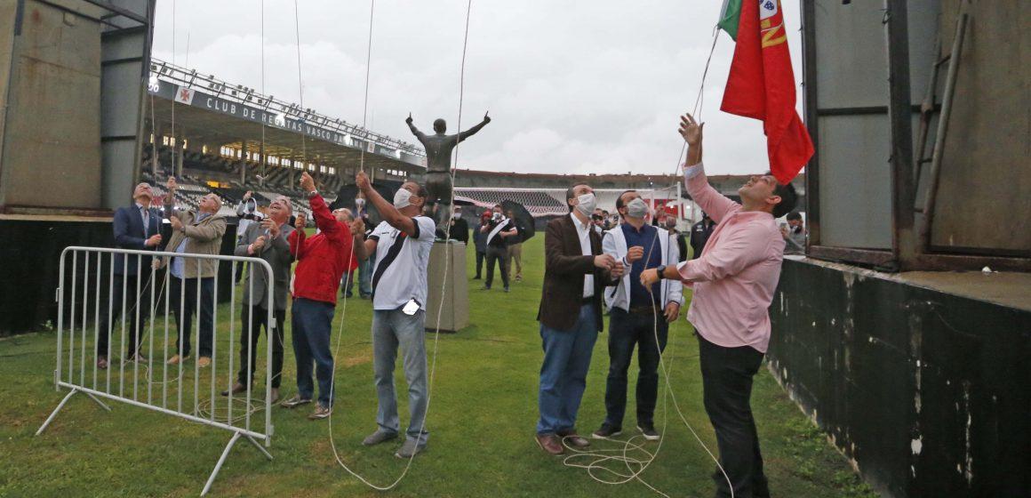 Alvorada nas sedes marcam início da comemoraçõe de aniversário do Club de Regatas Vasco da Gama