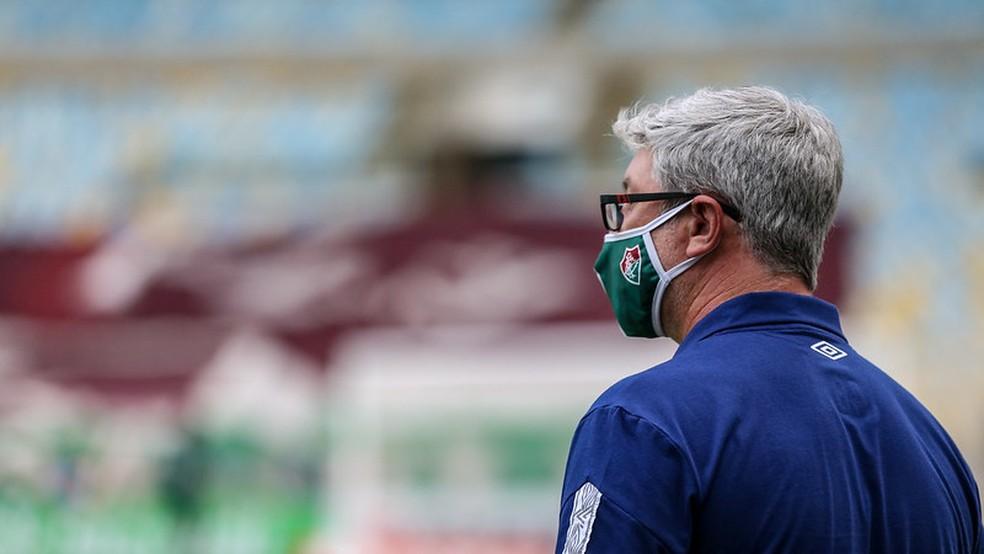 No Fluminense, Odair reencontra velho conhecido Grêmio em busca de sua primeira vitória na Arena
