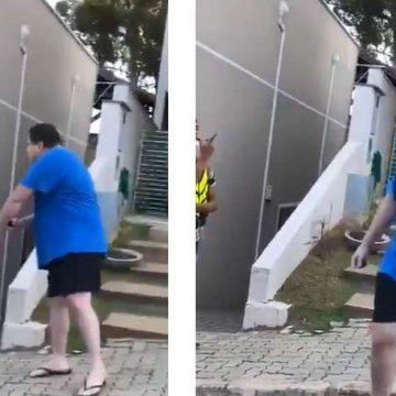 Homem humilha entregador com ofensas racistas no interior de SP: 'Seu lixo, você tem inveja disso aqui'