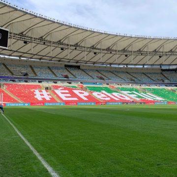 Grupo de torcedores prepara novo mosaico sábado e faz campanha para outros jogos do Fluminense