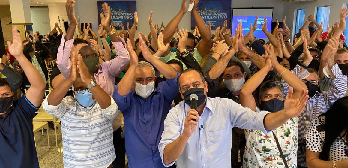 Max Lemos reúne profissionais e   população para discutir saúde pública de Nova Iguaçu