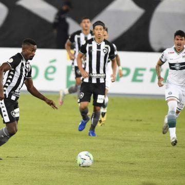 """Autuori elogia estreia de Kalou, mas critica Botafogo após empate em casa: """"Não fomos eficazes"""""""