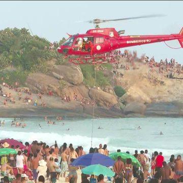 Bombeiros buscam adolescente e militar desaparecidos em praias do Rio e criança que sumiu em rio em Nova Iguaçu