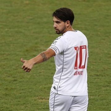 Descanso confirmado no Vasco: para evitar lesão, Benítez está fora do jogo contra o Atlético-GO