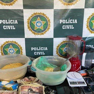 Polícia estoura refinaria do tráfico em Volta Redonda, no Sul Fluminense
