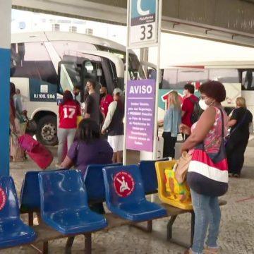 Rodoviária do Rio espera maior fluxo de passageiros desde o início da pandemia para o Feriado de Aparecida