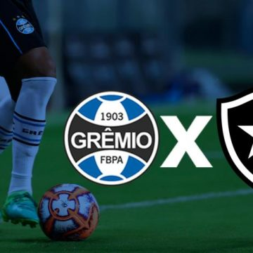 Grêmio x Botafogo: veja onde assistir, escalações, desfalques e arbitragem