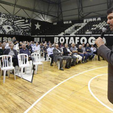 Botafogo aposta em novo projeto para evitar recuperação judicial e concretizar S/A