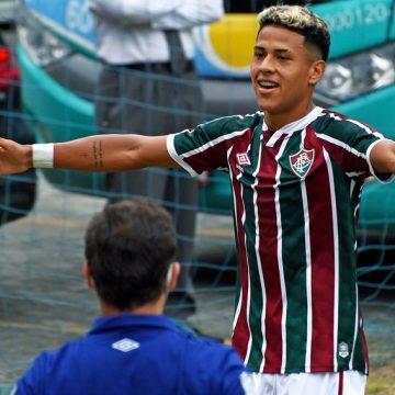 150 jogos na base e 0,85 gol/jogo: conheça Matheus Martins, destaque do sub-17 do Fluminense