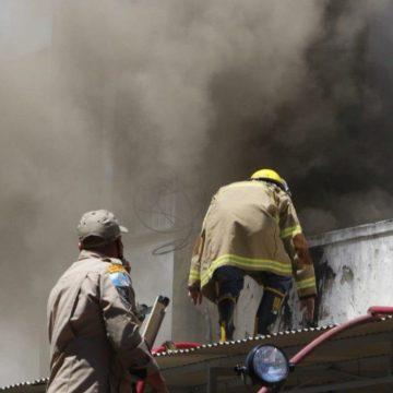 Incêndio atinge o Hospital Federal de Bonsucesso