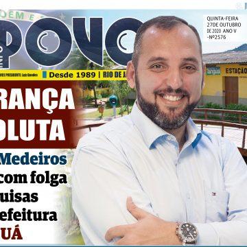Rodrigo Medeiros lidera com folga disputa pela prefeitura de Tanguá