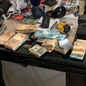 PF apreende dinheiro em espécie na casa de funcionário da Petrobras durante ação da Lava Jato no Rio