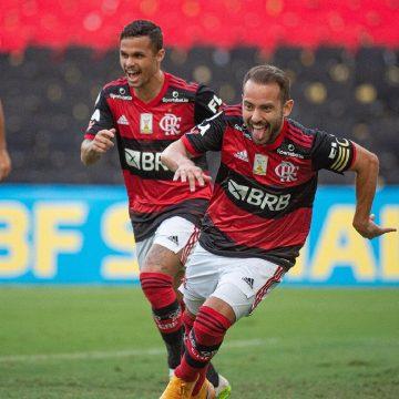 Everton Ribeiro assume também o lado mais goleador e tem sua melhor média no Flamengo