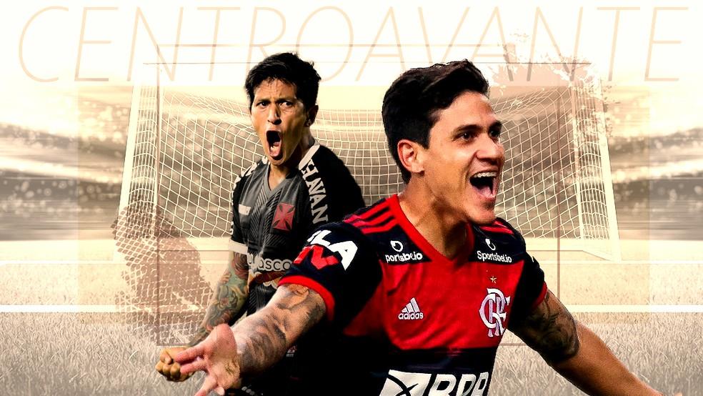 Vasco x Flamengo: em fases opostas, Cano e Pedro são as esperanças de gol no clássico