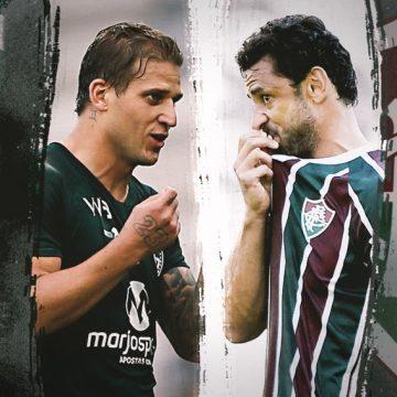 Rivais nesta quarta, Fred e Rafael Moura cultivam amizade de longa data e parceria com títulos