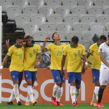 Brasil faz 5 a 0 na Bolívia e anota sua maior goleada em estreias em Eliminatórias na história