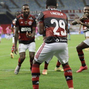 Flamengo goleia o Del Valle na Libertadores e antecipa classificação às oitavas