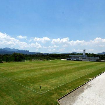 Após quase dois anos, Fluminense finaliza obras e inaugura terceiro campo em seu CT; veja fotos