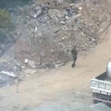 Polícia Ambiental realiza operação em aterro de Curicica