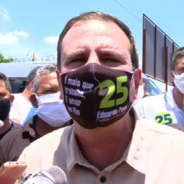 Eduardo Paes diz que, se for eleito, vai investir nas zonas Norte e Oeste do Rio