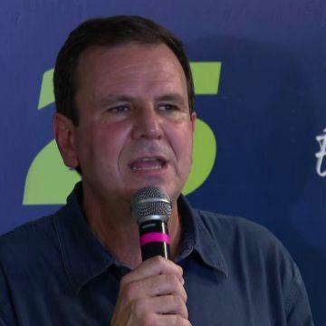 Eleito, Paes diz que foi 'vitória da política' e cita pandemia como 1º desafio como prefeito do Rio