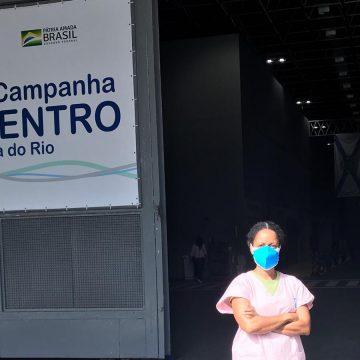 Funcionários do Hospital do RioCentro alertam que a ocupação de vagas para Covid-19 voltou aos mesmos patamares do pico da pandemia