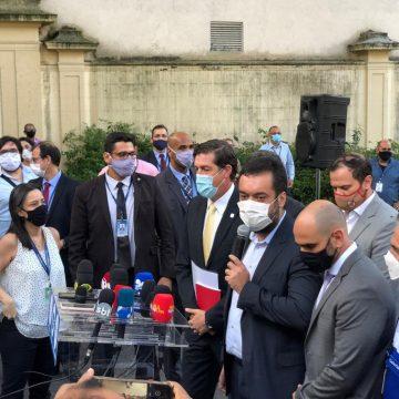 Cláudio Castro anuncia testagem em massa no RJ e descarta lockdown: 'Não fecharemos nada'