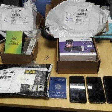 Operação da PF desbarata quadrilha nos Correios que desviou R$ 1 milhão em celulares e eletrônicos