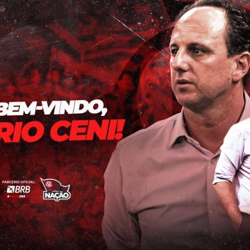 Flamengo oficializa contratação do técnico Rogério Ceni, ex-Fortaleza