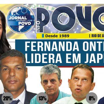 DRª FERNANDA ONTIVEROS LIDERA PESQUISA DO IBPS EM JAPERI COM 36% DAS INTENÇÕES DE VOTOS