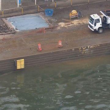 Quatro pessoas morrem em acidente após carro cair na Baía de Guanabara