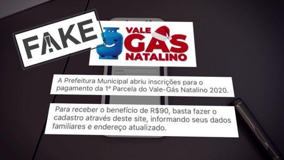 Criminosos aplicam golpe do 'vale-gás natalino'; prefeitura do Rio orienta a população a não informar dados