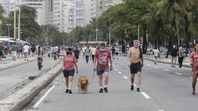 Covid-19: Rio segue com aumento acima de 150% na média móvel de mortes e casos