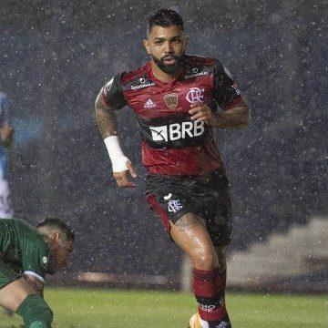 Flamengo tem Thuler expulso e empata com o Racing com gol de Gabigol