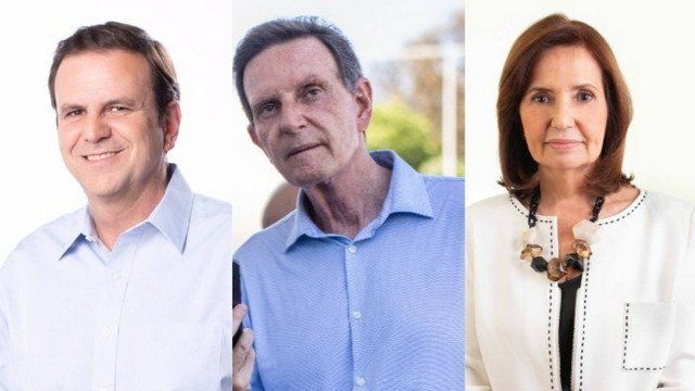 A pouco mais de uma semana da eleição, Rio e São Paulo têm disputa acirrada por vaga no 2º turno