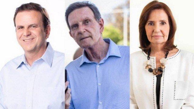 No Rio, Paes lidera com 41% dos votos válidos; segundo lugar segue indefinido, diz Ibope