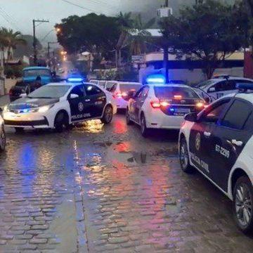 Polícia faz operação contra o tráfico em Duas Barras, cidade que não registra homicídios há mais de um ano