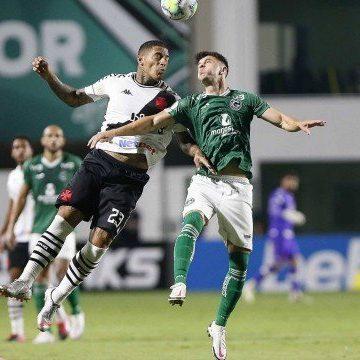 Vasco fica só no empate com o Goiás, deixa o Z-4, mas corre risco de voltar nesta segunda