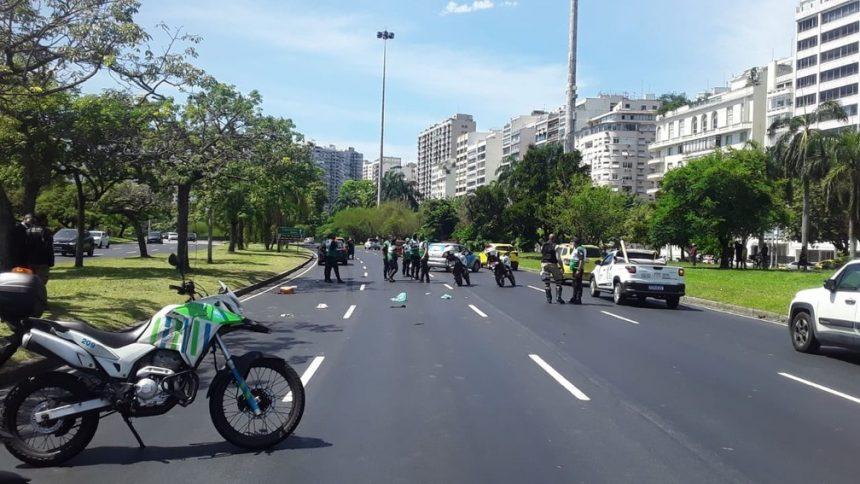 Idoso de 75 anos morre atropelado no Flamengo, na Zona Sul do Rio