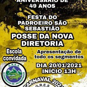 Coroado de Jacarepaguá realiza festa no dia do padroeiro do Rio