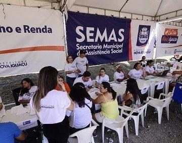 """Fato:""""Secretaria de Assistência Social de Nova Iguaçu divulga edital com 248 vagas temporárias"""""""